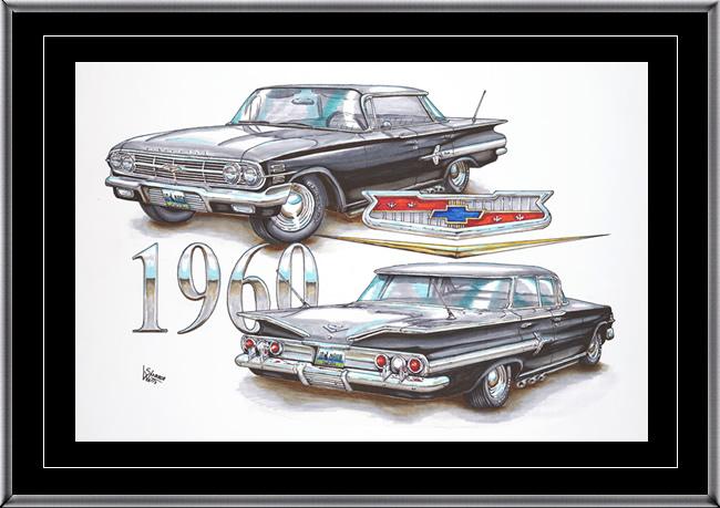 Finished Vehicle Artwork 1960 Chevy Impala