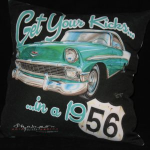 56 Chevy Pillow