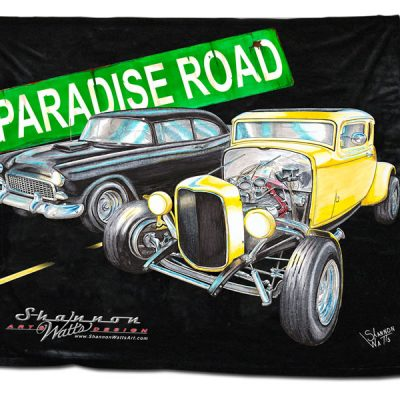 32 Coupe 55 Chevy Blanket
