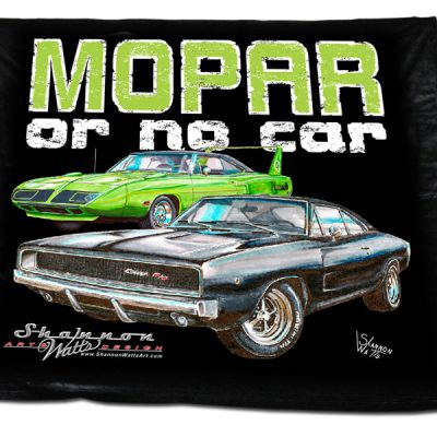 MOPAR Or No Car Blanket